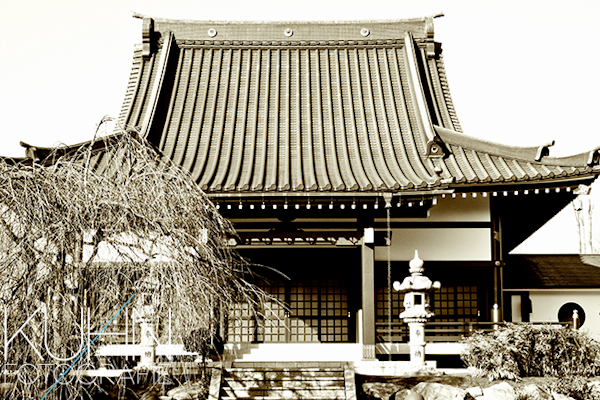 Eko Haus Tempel außen