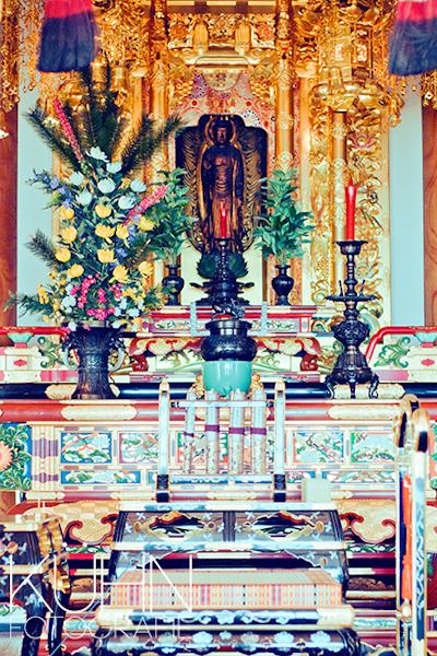 Eko Haus Tempel innen